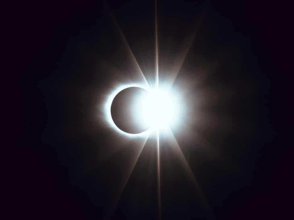 Am Donnerstag findet eine partielle Sonnenfinsternis statt