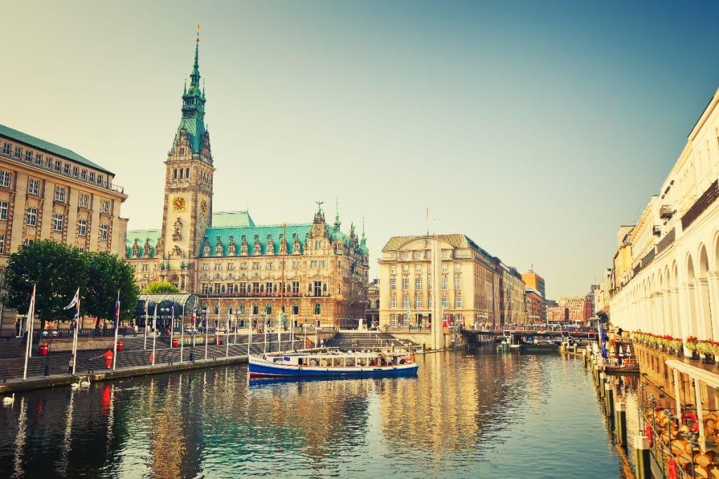 'Shadowmap': die Karte für einen heißen Sommer in Hamburg