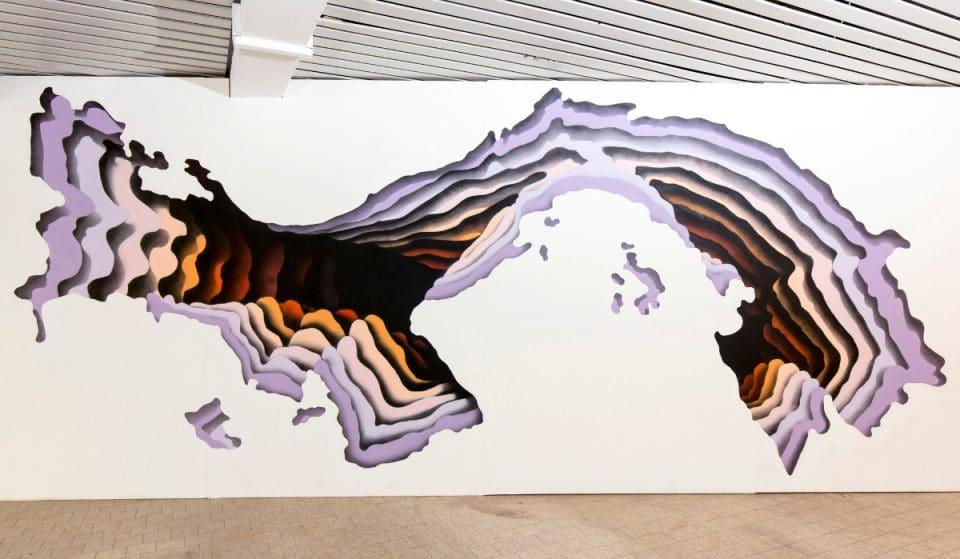"Urban Artist ""1010"" malt ein riesiges Wandbild in Altona"