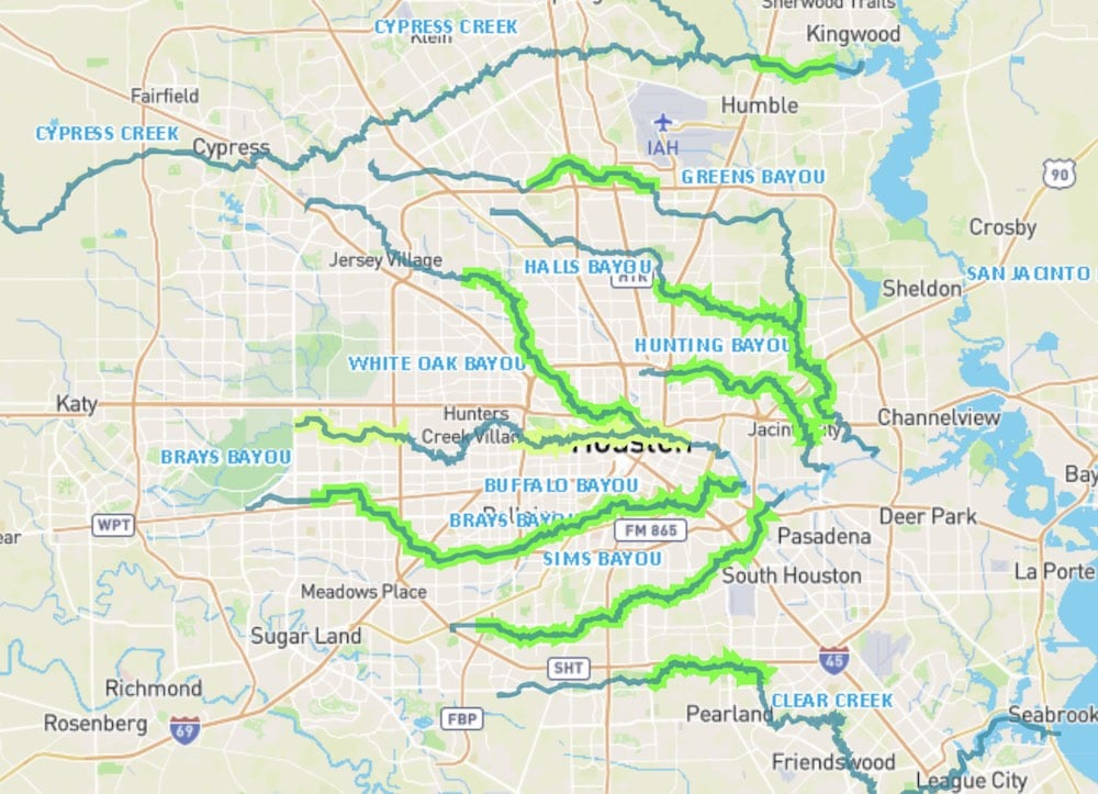 Houston Bayou Greenways Project