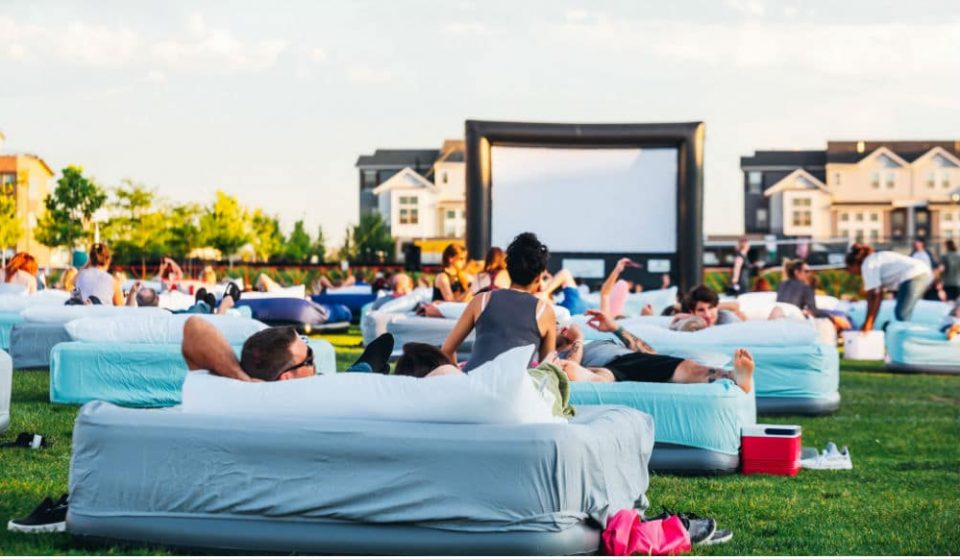 An Amazing Outdoor Cinema With Over 150 Double Beds Is Coming To Houston This Summer