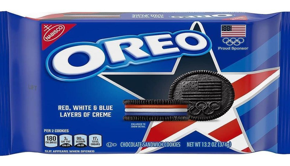Oreo Is Releasing Team USA-Themed Cookies Ahead Of The 2020 Olympics