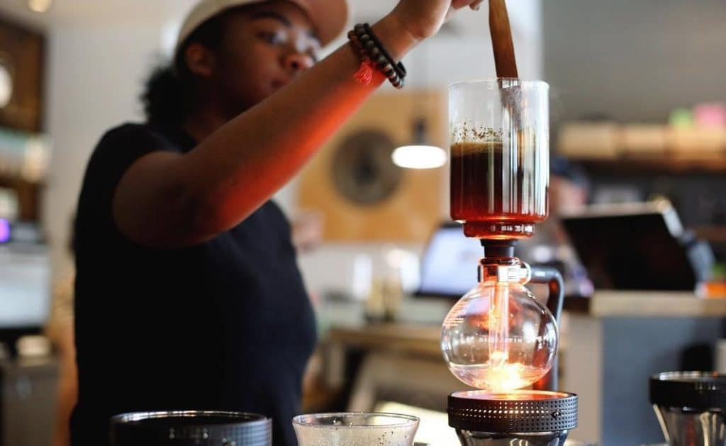 This Boozy Cafe Brews Coffee With Science • Siphon Coffee
