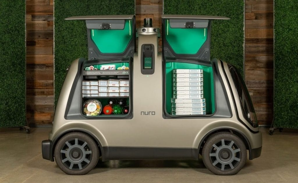 Robot Cars Will Soon Deliver Your Groceries In Houston