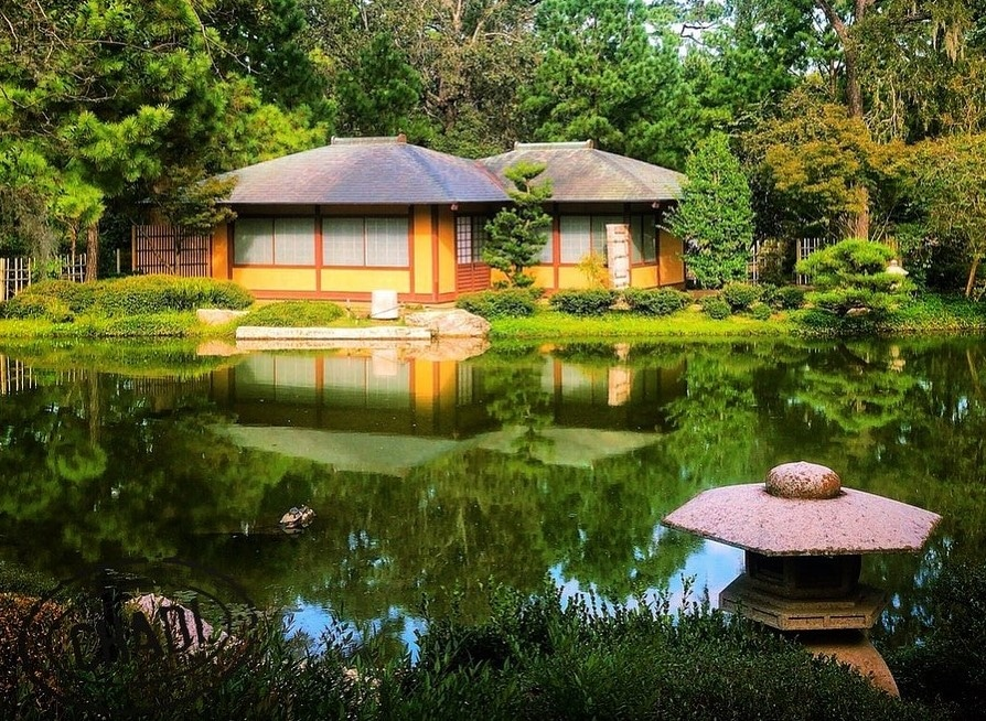 Find Serenity At The Japanese Garden In Houston