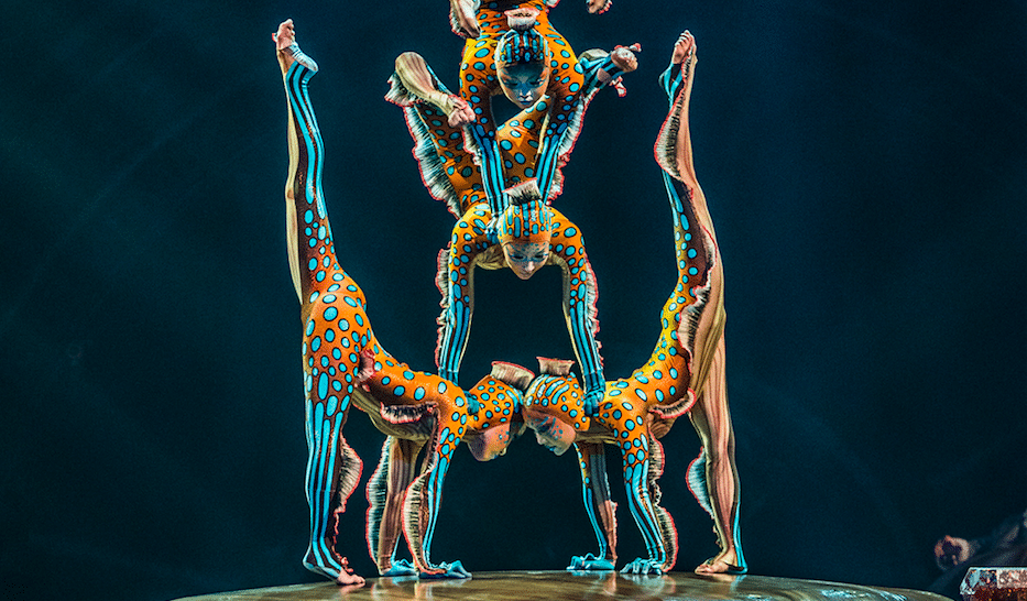 Witness A Free Mind-Blowing Cirque Du Soleil Performance From Home This Afternoon
