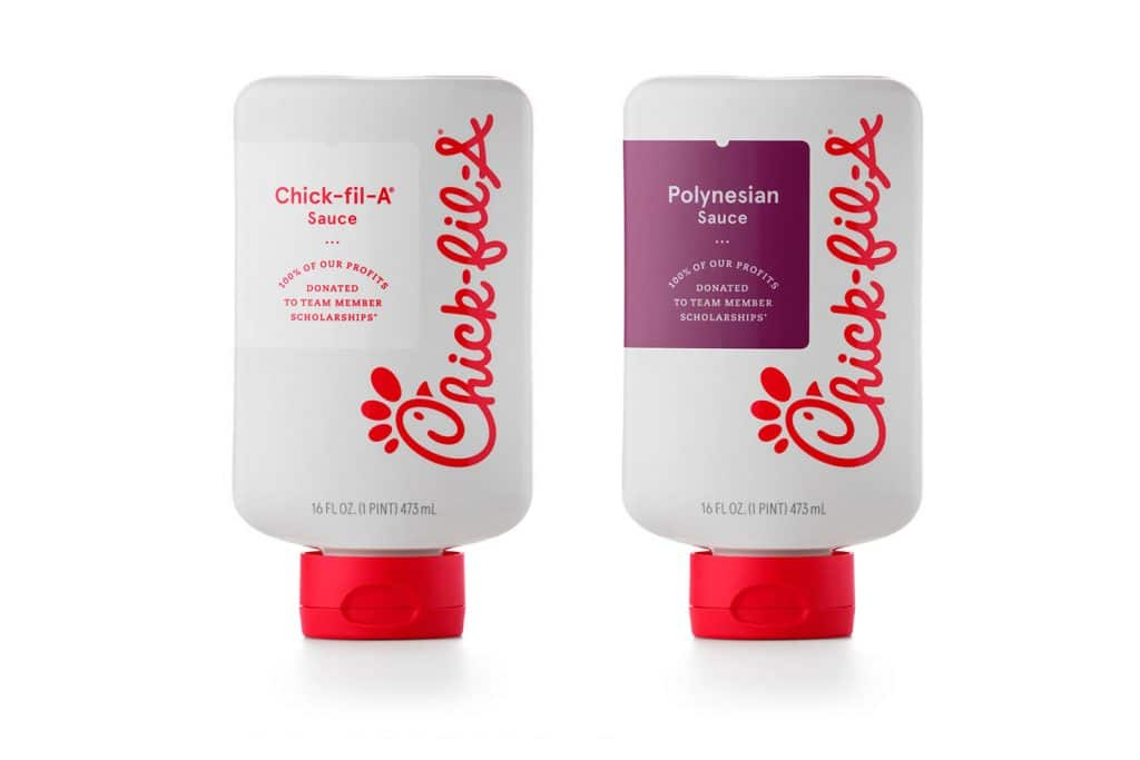 You'll Soon Likely Be Able To Get Your Chick-Fil-A Sauces By The Bottle