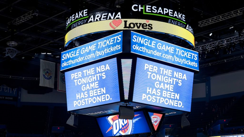 The NBA Season Is Suspended Until Further Notice