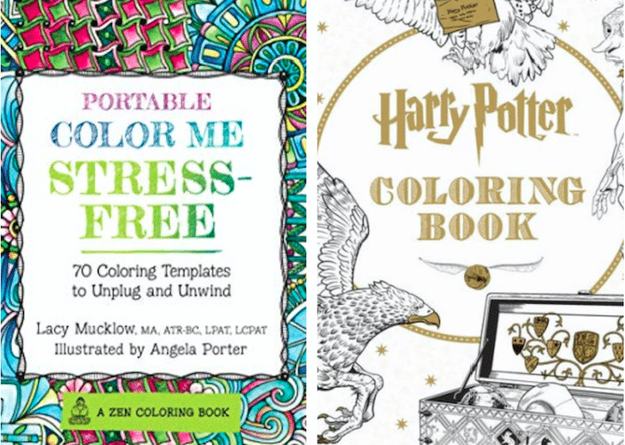 Immerse Yourself In A Beautiful Escape With These Adult Coloring Books