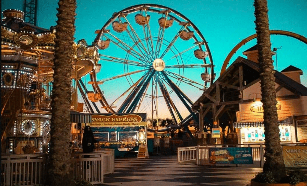 Boo On The Boardwalk Is Back At The Kemah Boardwalk