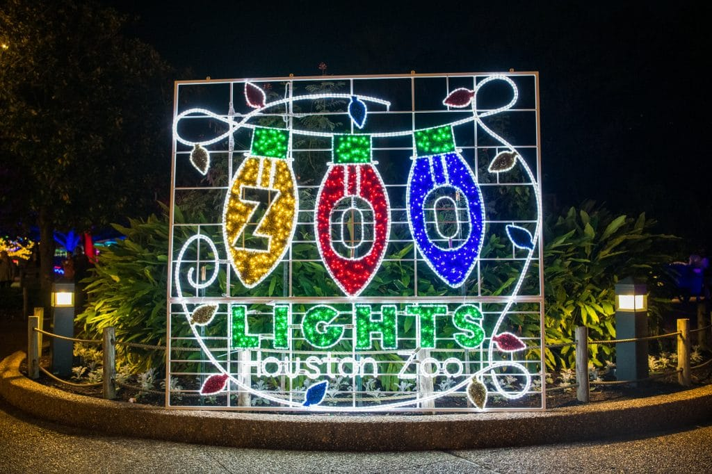 Houston Zoo Lights Will Return This November