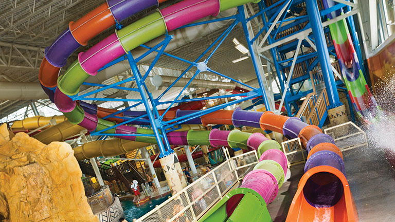 America's Largest Indoor Waterpark Is Diving Into Texas This Fall