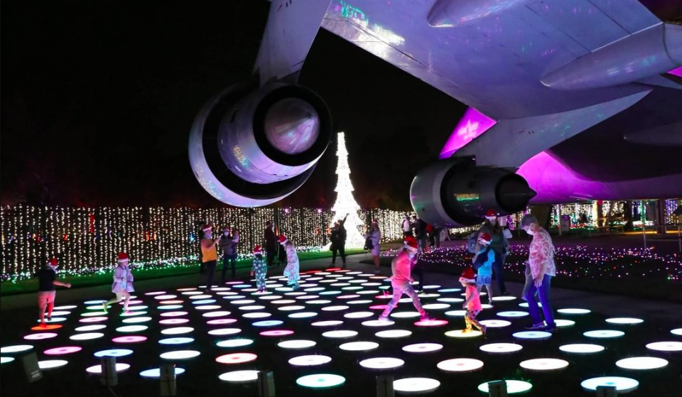 Venture Into A Galaxy Of Lights At Space Center Houston