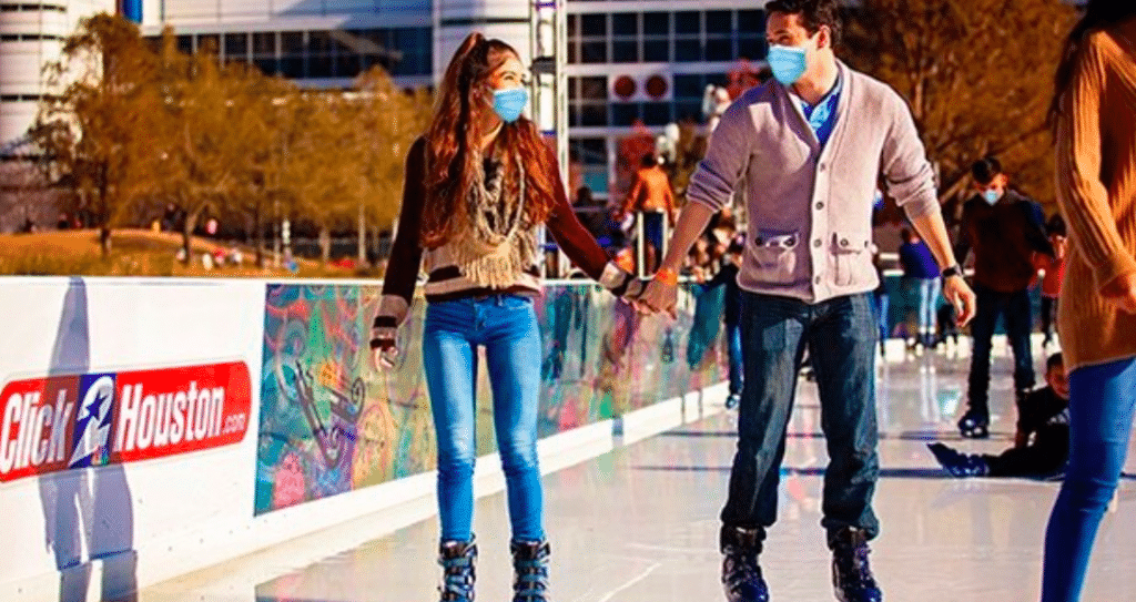 Discovery Green Has Opened An Outdoor Ice Rink In The Heart Of Downtown