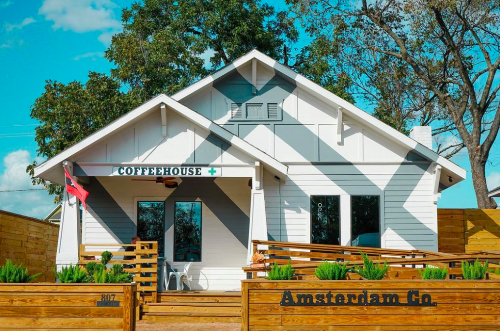 CBD-Infused Coffee Shop Opens In The Heights • Amsterdam Co. CoffeeHouse