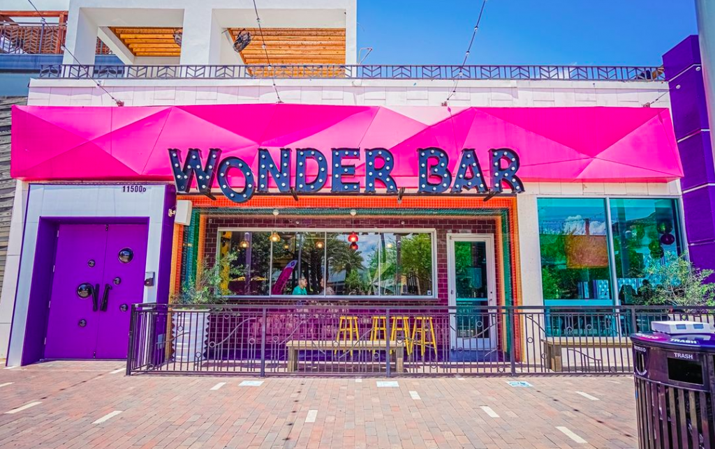 Whimsical New Concept Bar Is Now Open In Houston • Wonder Bar