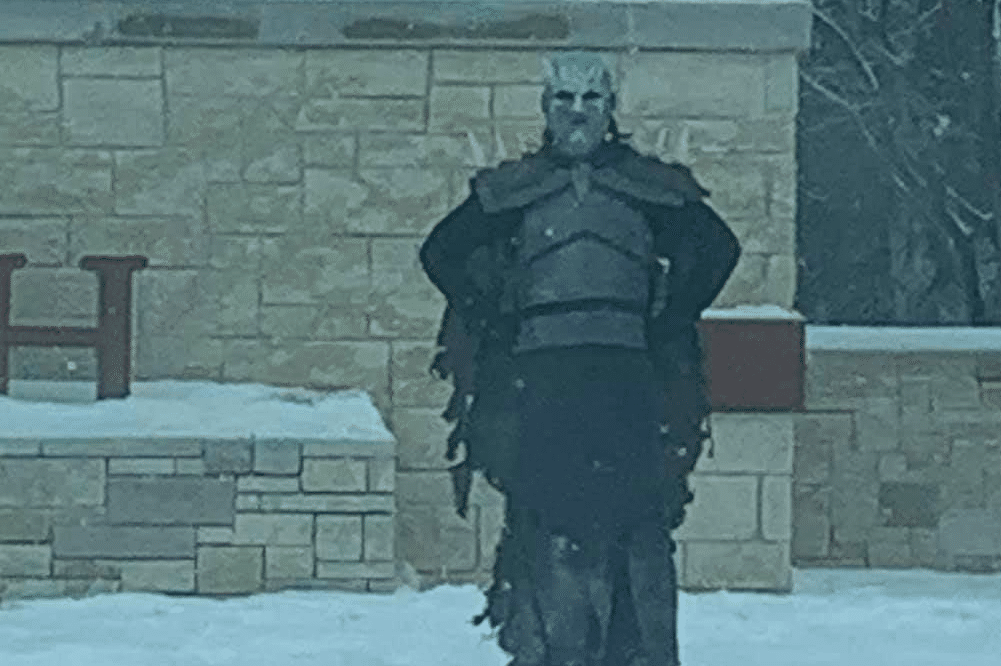 Someone Has Been Going Around Austin Posing As The Night King