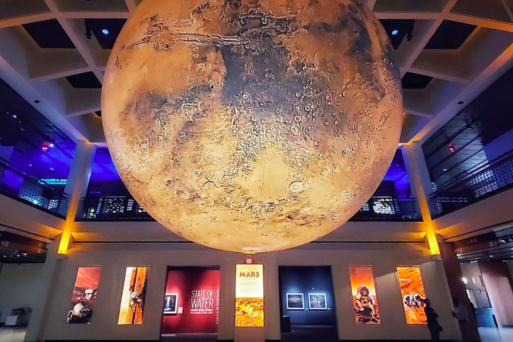 Experience Life On Mars At The HMNS's Otherworldly Exhibit