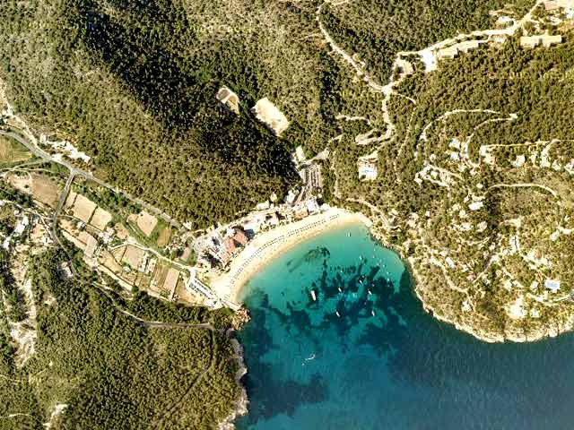 Cala de Sant Vicent: Stunning Views and Blue Water