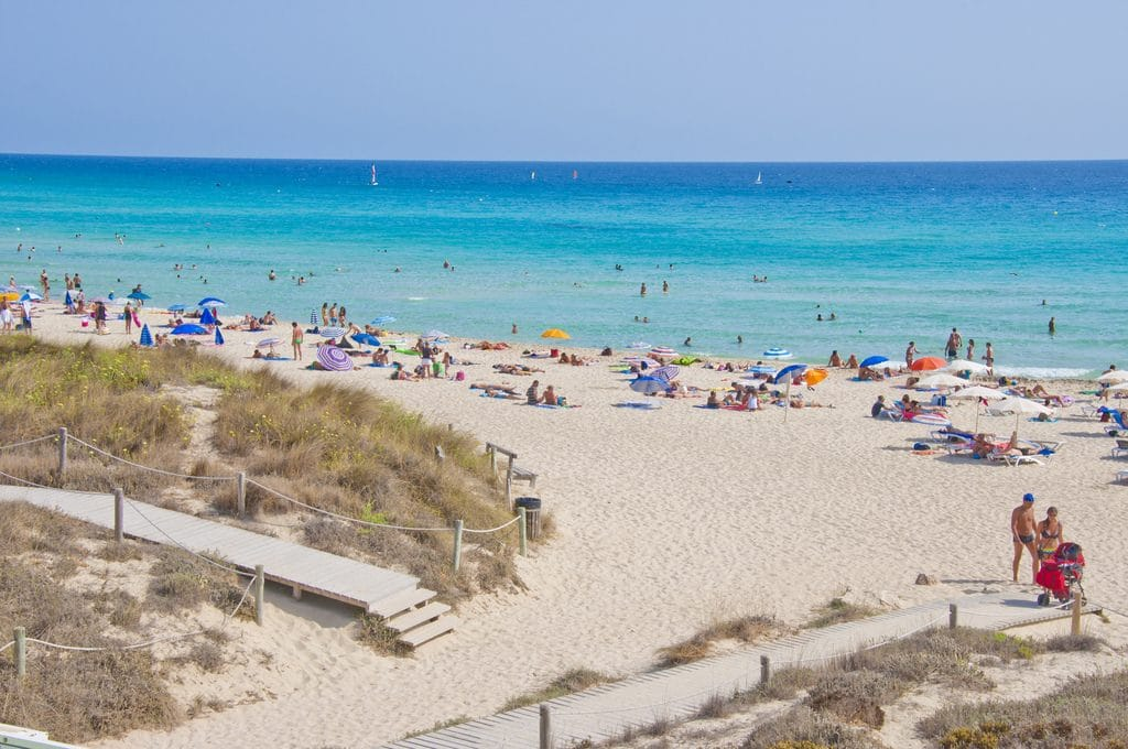 Temperatures on the rise in Ibiza
