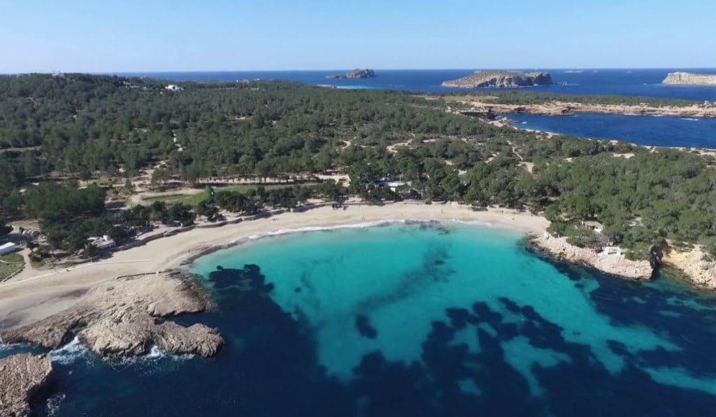 Cala Bassa: Clear Water and Soft Sand