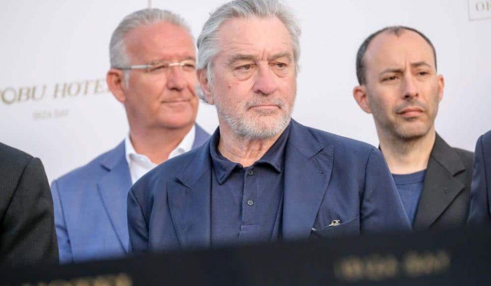 Robert De Niro in Ibiza for Official Opening of Nobu Hotel