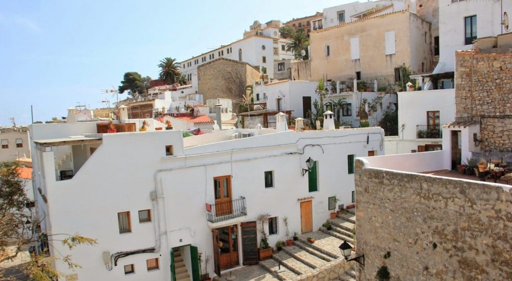 Get Lost In the Beautiful Streets of Dalt Vila in Ibiza