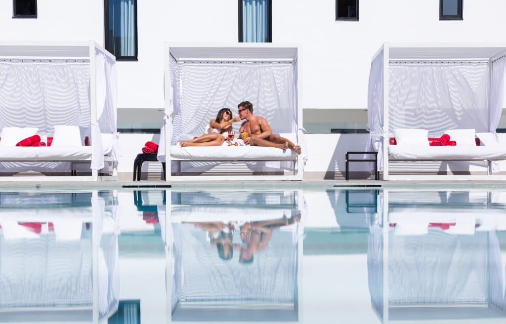 It's always a good chillin' time in Migjorn Ibiza Suites & Spa