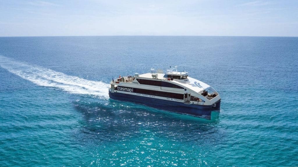 All sailors on board… We're going to Formentera