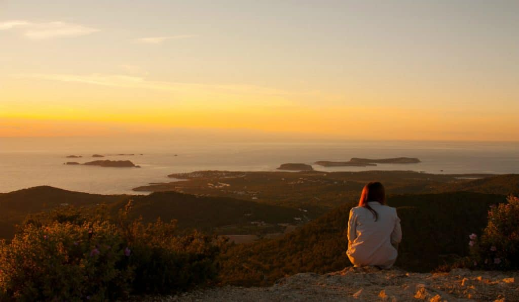 The Best Views in Ibiza