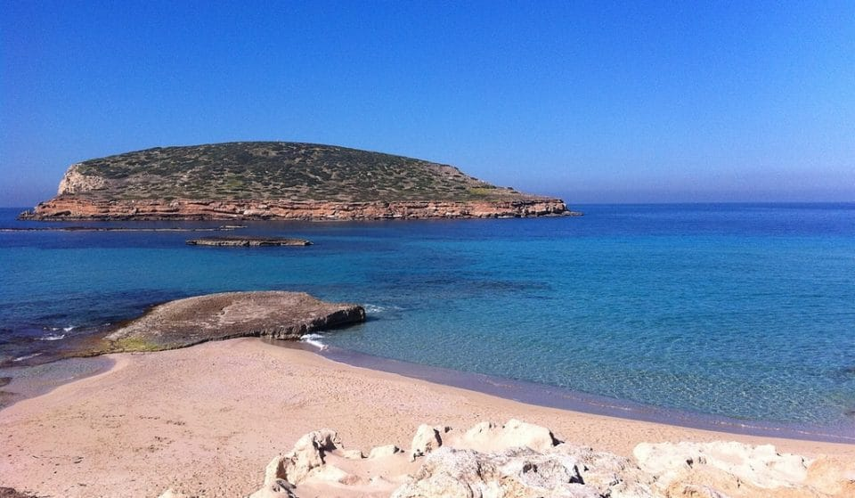 The beauty and mysteries of Cala Comte