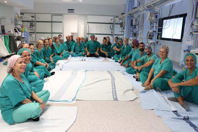 Eleven minutes of yoga are making a big change at the main hospital in Ibiza