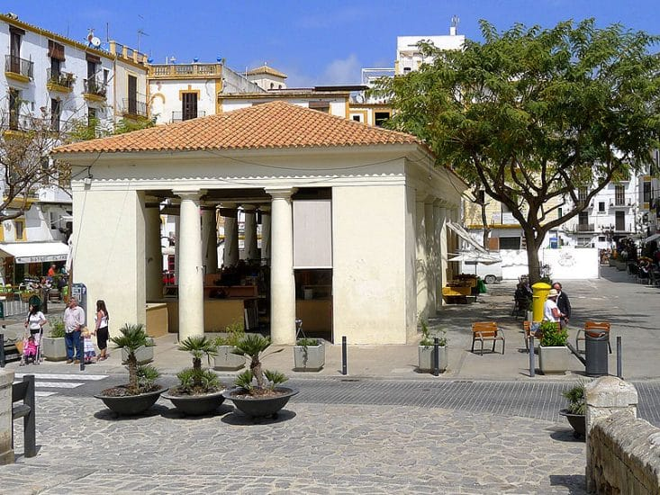 Discover the Mercat Vell in Ibiza