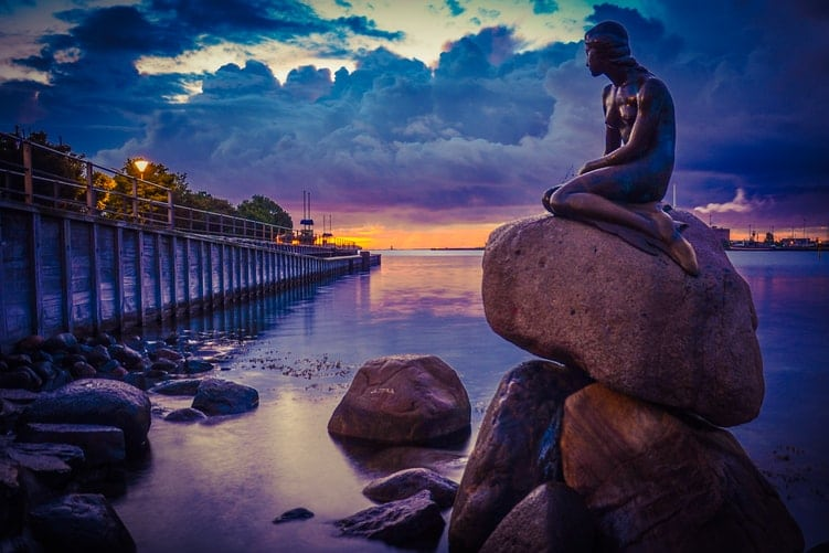 10 Beautiful Photos of Copenhagen At Sunset
