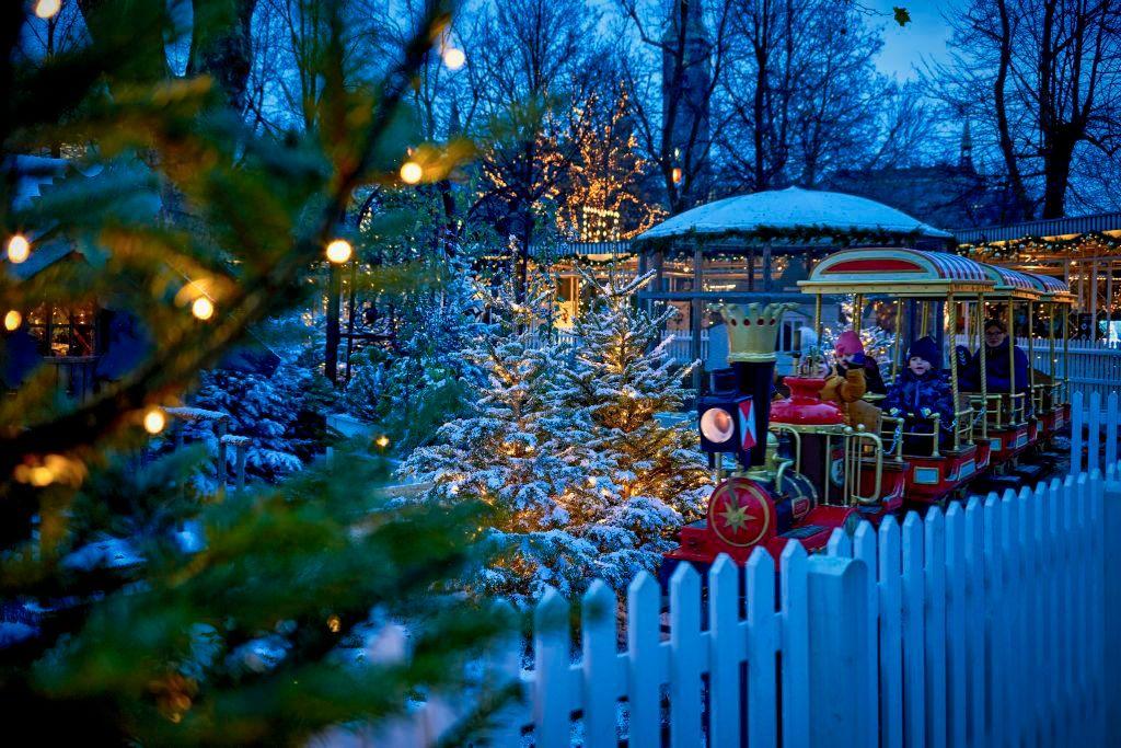 Tivoli Has Given Its Christmas Trees To COVID-19 Test Centres