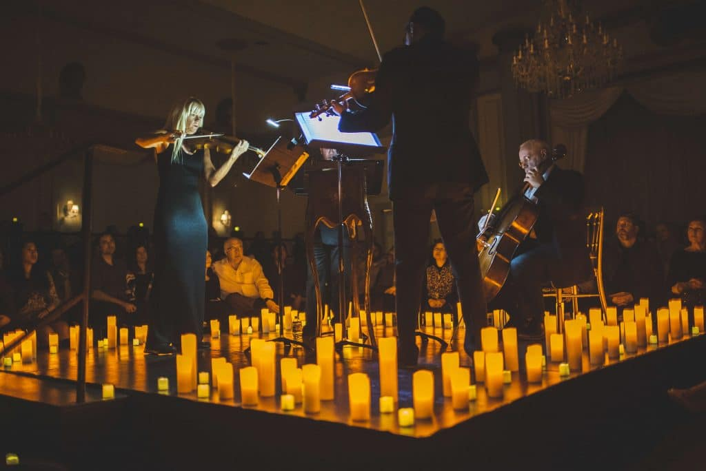 Candlelight Movie Soundtracks • Listen Live At The Gorgeous Moltkes Palæ In Copenhagen