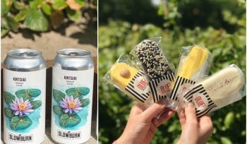 This Pop-Up Bar In Vesterbro Sells Takeaway Craft Beer, Ice-Cream And Flowers