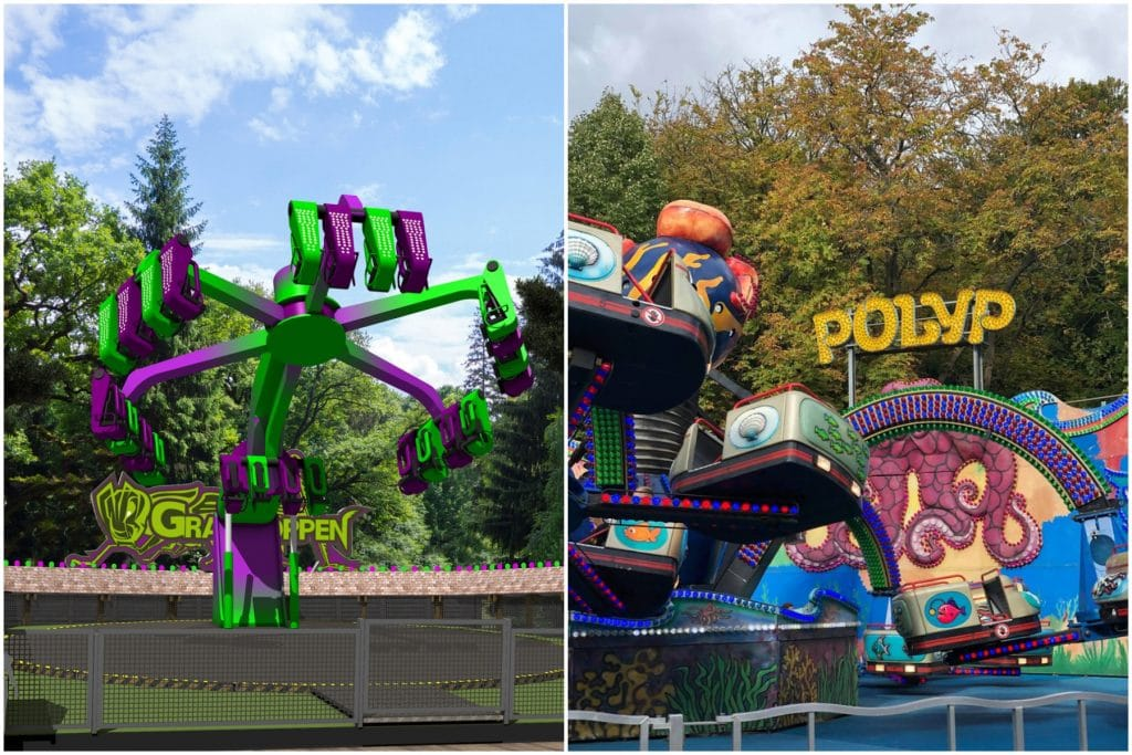 The World's Oldest Amusement Park Will Re-Open For Easter • Bakken