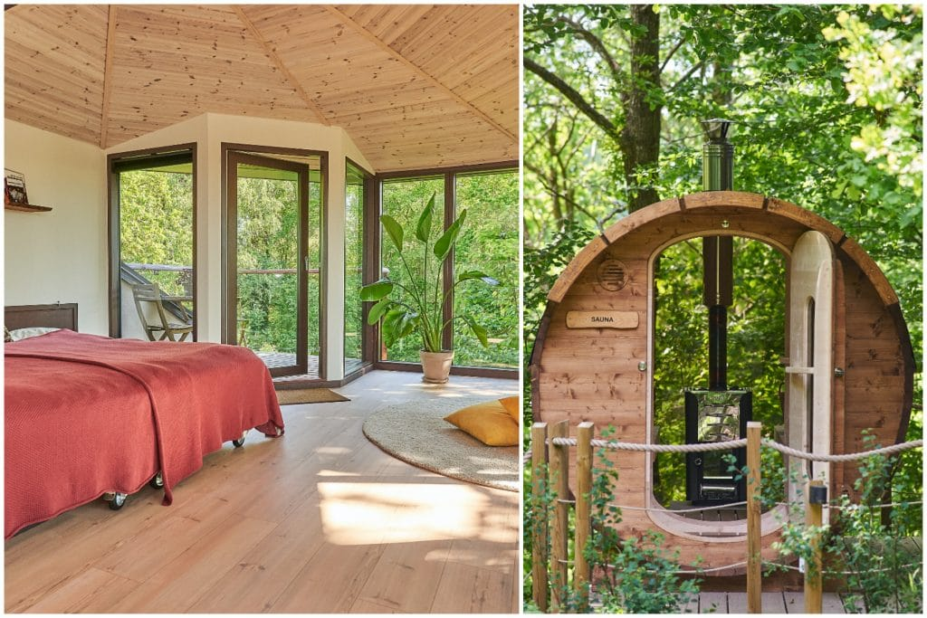 You Can Sleep Amidst Nature At This Luxurious Treehouse Pad In Jutland