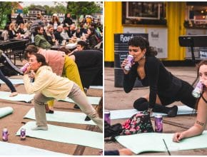 Get Fit And Tipsy At The Same Time With Free Beer Yoga In Copenhagen