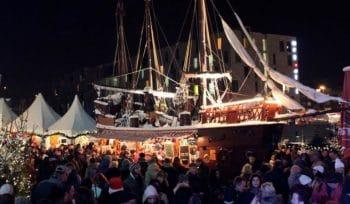Ein Grund zur Freude: Hafen-Weihnachtsmarkt findet trotz Corona statt