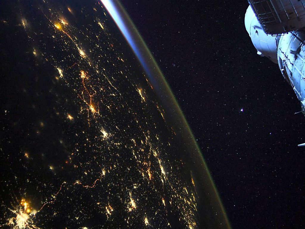 Köln aus dem All: Astronaut schickt Bilder seiner Wahlheimat