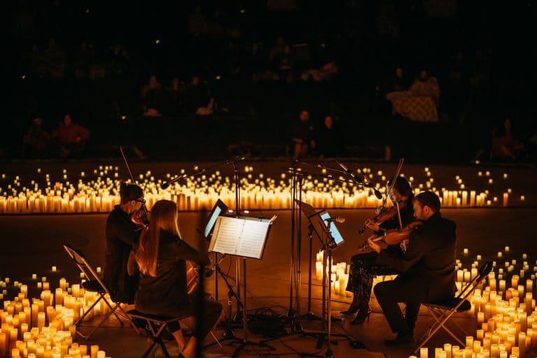 Experience Magical Candlelight Concerts In Stunning Open-Air Spaces This Fall