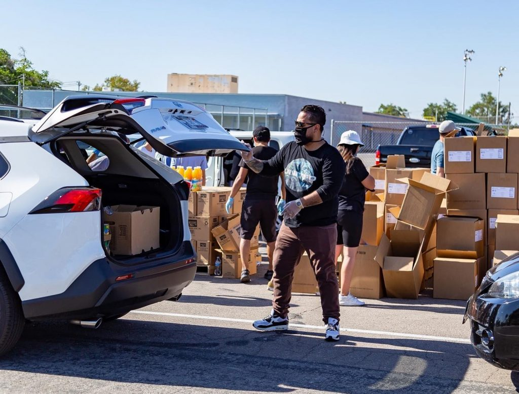 There's A Drive-Up Grocery Giveaway This Wednesday For Local Entertainment Workers In Need