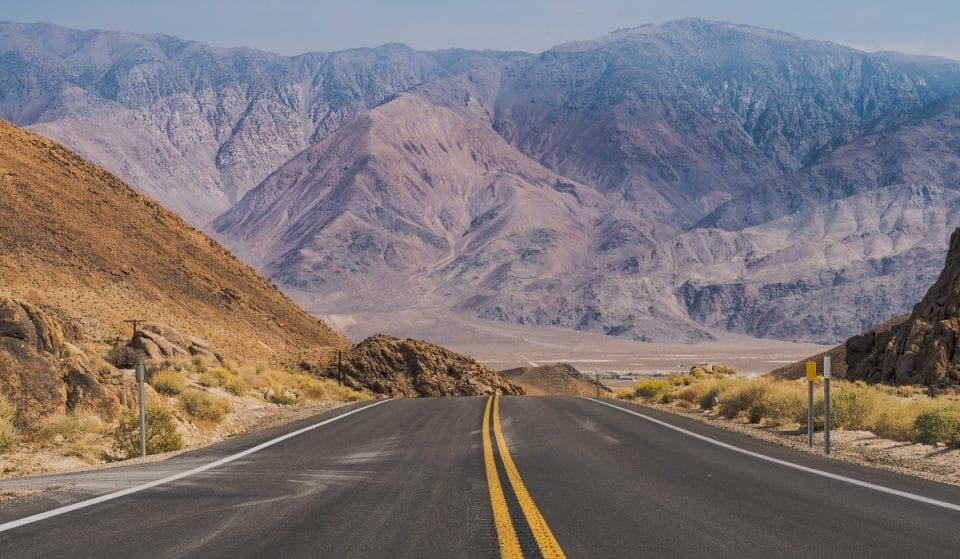 Road Trip From Sin City To Death Valley
