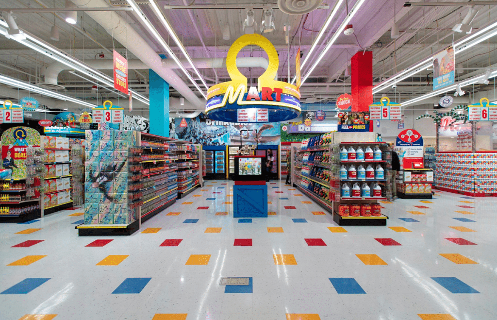 This Mind-Bending Grocery Store In Las Vegas Takes Immersive Art To A Surreal Level