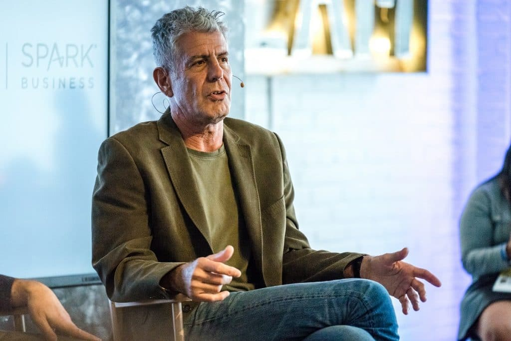 Anthony Bourdain's Quest For Old School Vegas