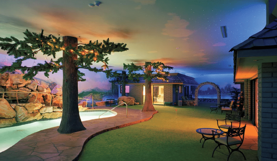 This Underground Vegas Home Is On The Market For 18 Million