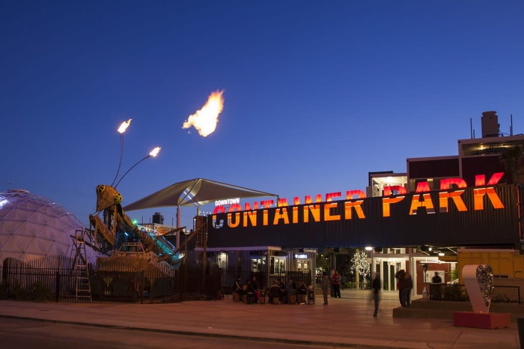 The Downtown Container Park Is The Perfect Getaway Without Leaving The City