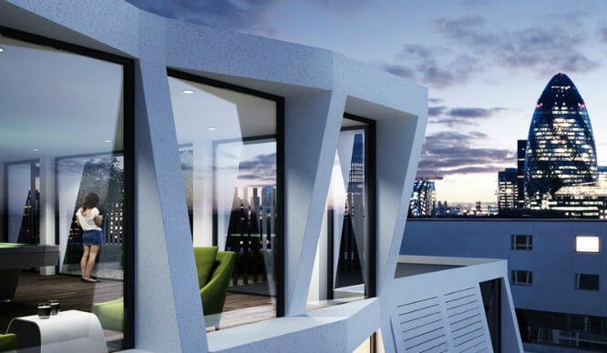 Only In London! Is This The Most Ridiculous Student Housing You've Ever Seen?!